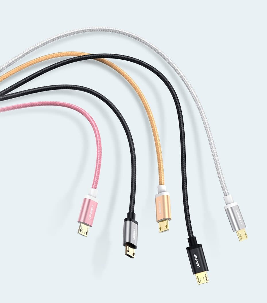Colorful Braided Micro USB Cable