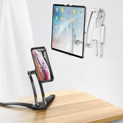 Desktop & Wall Pull-Up Lazy Bracket